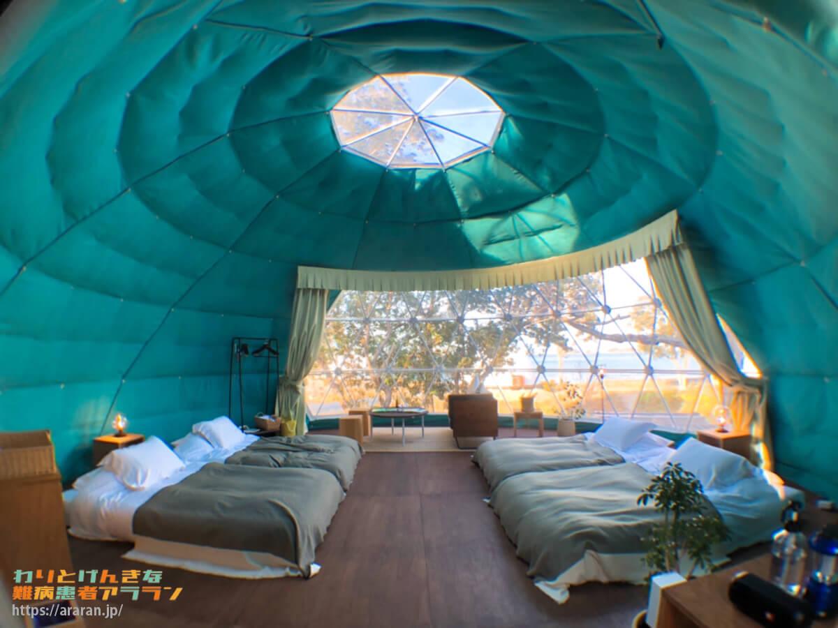 グランオーシャン伊勢志摩のグランデッキ「木の棟」の室内写真