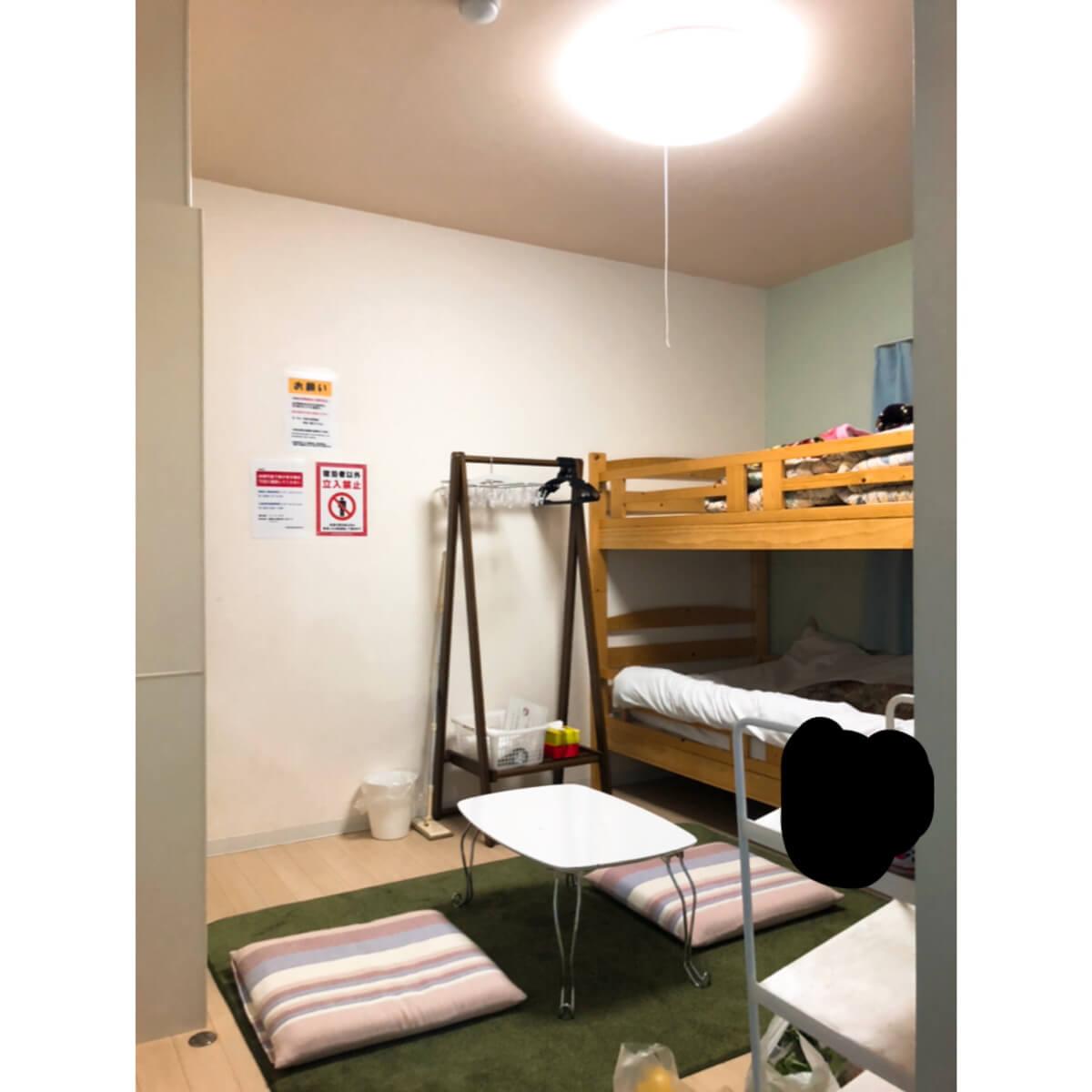 自炊プラン「トレーラー」の室内写真