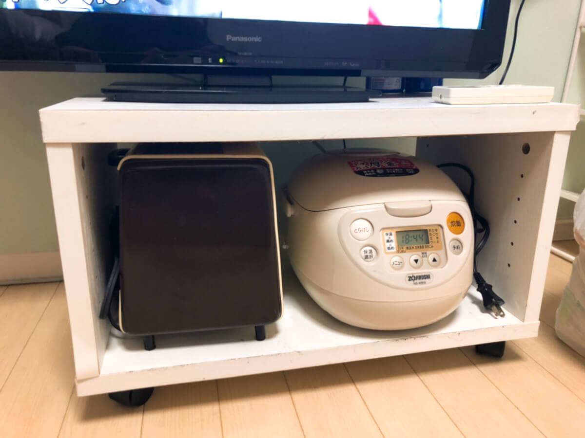 トースター&炊飯器の写真