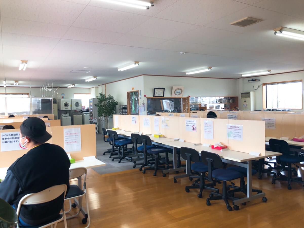 合宿生徒専用の施設「フリーダム」写真